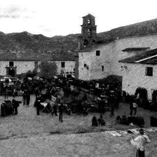 Vista da Praça de San Blas, em Cusco