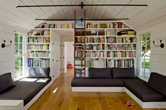 Inspirasi Desain Perpustakaan Mini di Rumah