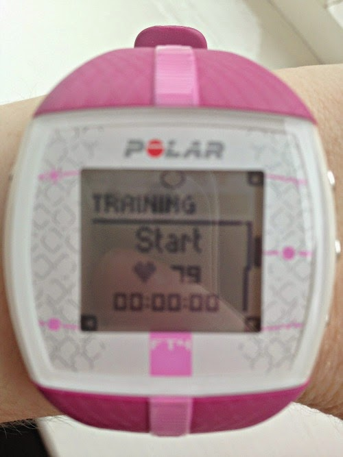 Polar FT 4 Heart Rate Monitor