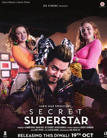 Secret Superstar (2017) Hindi DVDScr 720p