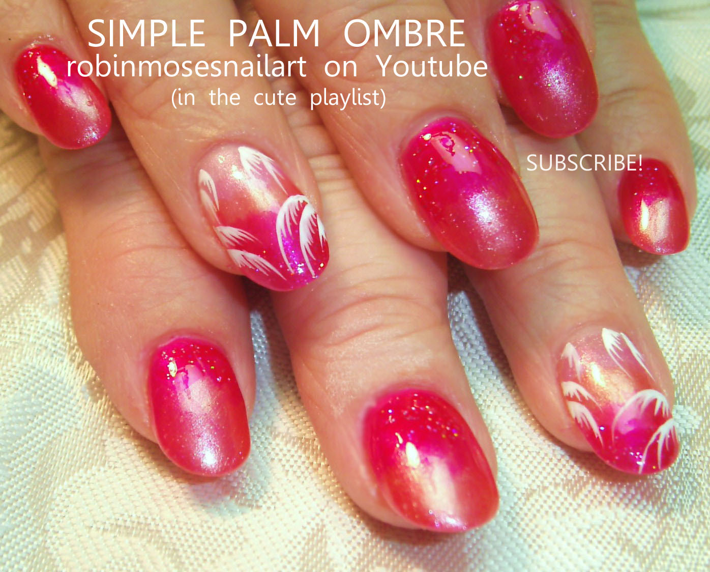 Youtube French Manicure Ombre Papillon Day Spa
