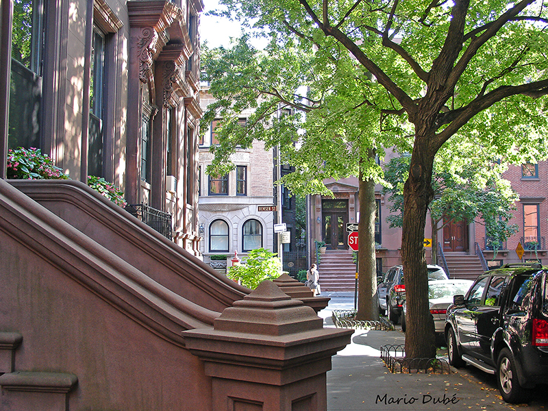 Le quartier historique de Brooklyn Heights