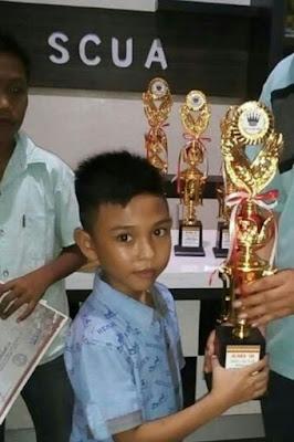 Atlit Catur Junior Alfanza Eka Wijaya Akan Bertanding di Kompetisi Catur International