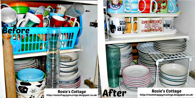 Kitchen Cabinet Declutter