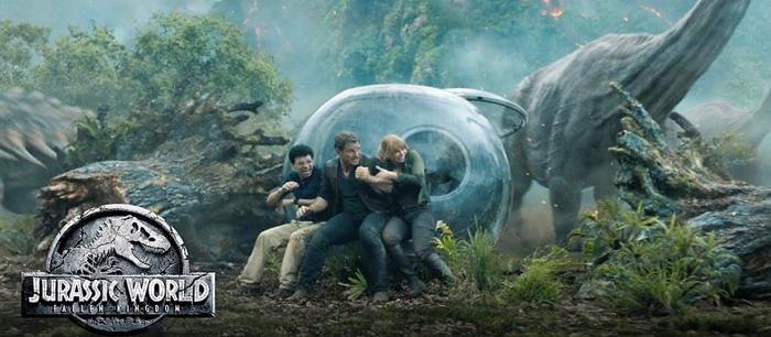 Jurassic World: Fallen Kingdom from 22 June 2018