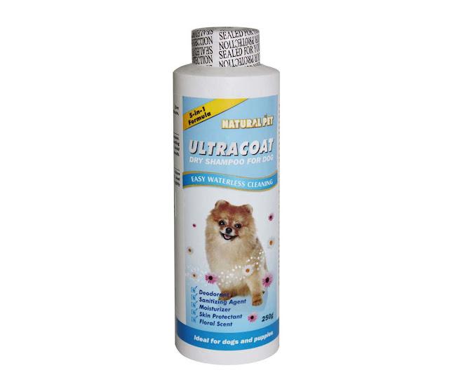 Phấn tắm khô Ultra Coat cho chó