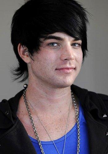 Foto de Adam Lambert con la cara limpia