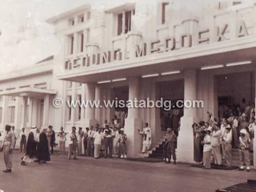 Foto Konferensi Asia Afrika 1955 Bandung