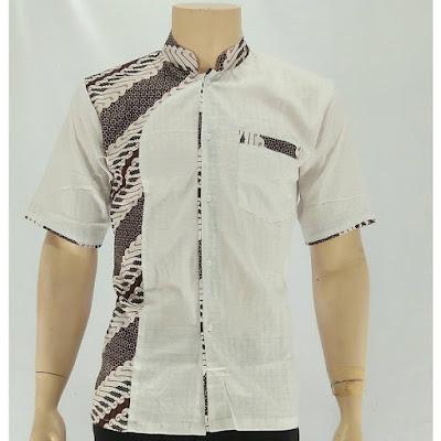 Kemeja Batik Koko motif parang