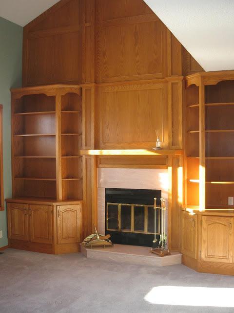 Living Room Feature Wall Decor: Modest Homespun Creations: Living Room Feature Wall Reveal: