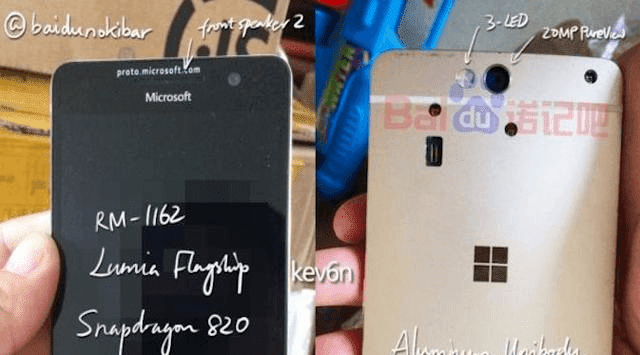 penampilan lumia 960 bocor di internet
