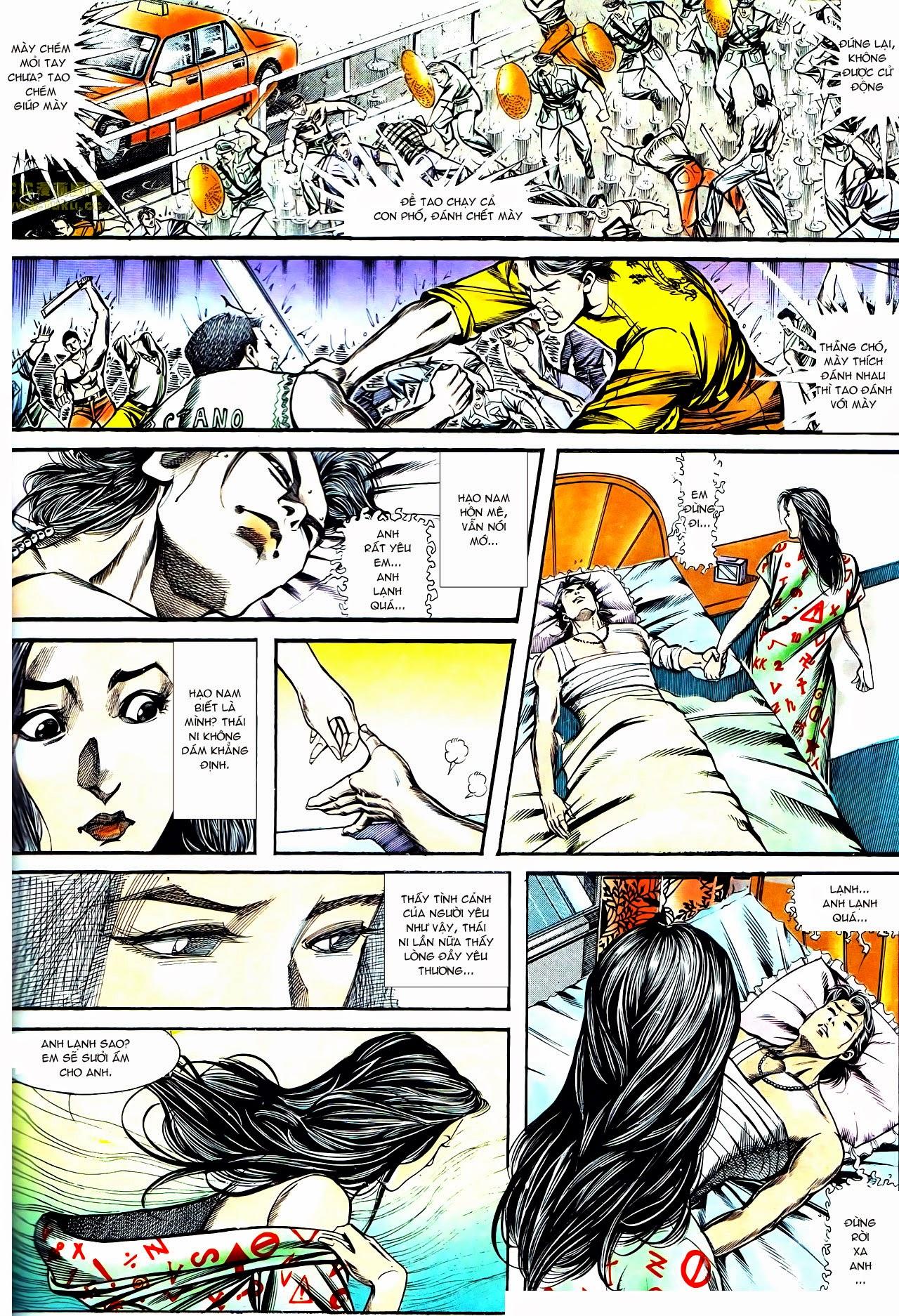 Người Trong Giang Hồ chapter 128: thái ni hiến thân trang 20