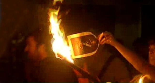 Detienen a tres de los cinco investigados por la quema de fotos del rey en la Diada