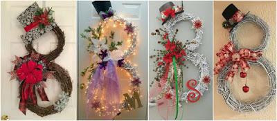 adornos-navideños-puerta