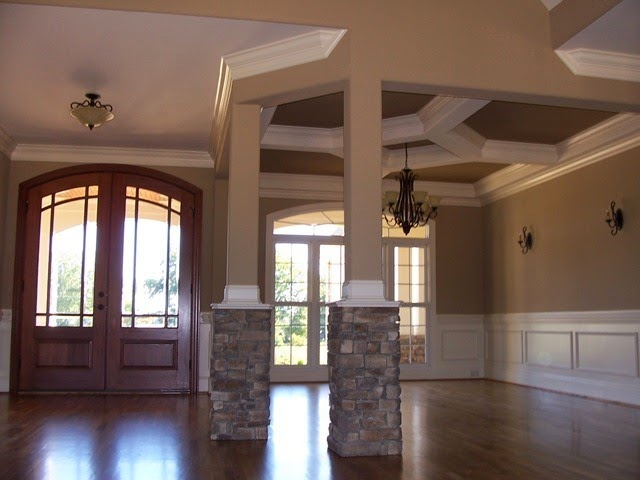 Modern wall paint design ideas for home wall painting - Contemporary interior paint colors ...