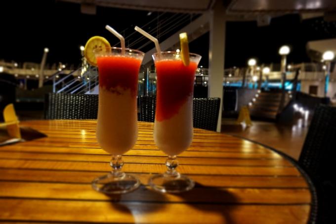 msc divina karibian risteily / cocktailit, drinkit