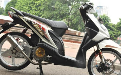 honda beat modifikasi 2015