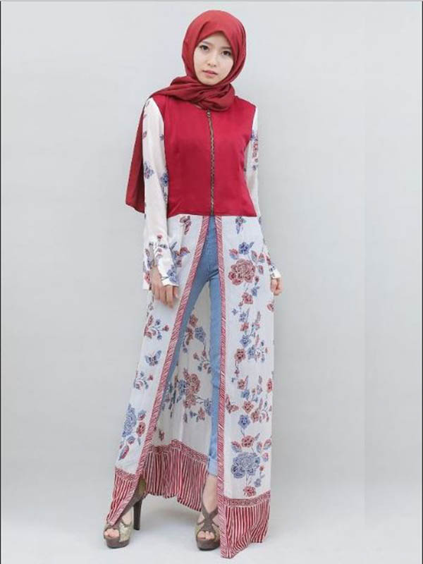 10 Model Baju Batik Gamis Terbaru 2017 Tabinaco Batik Madura