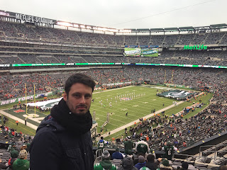 Partido de NFL en el Metlife Stadium de Nueva Jersey