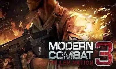 Modern Combat 3 Fallen Nation v1.1.4 g Apk Mod Unlimited Money +  Data