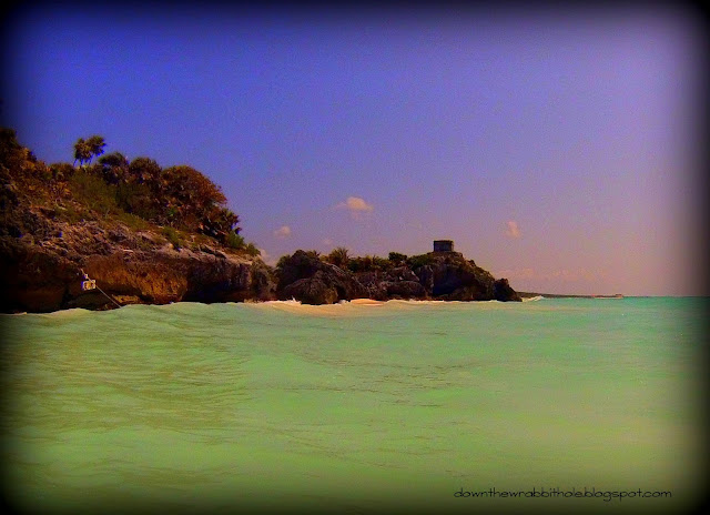 Tulum ruins, Tulum beach, Akumal, Mexico, Mayan ruins