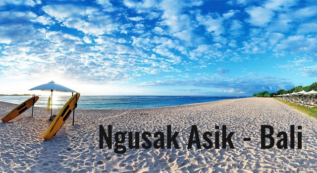Lirik Lagu Ngusak asik Bali