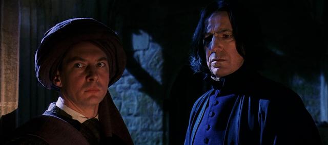 Куиръл и Снейп в Хари Потър и философският камък