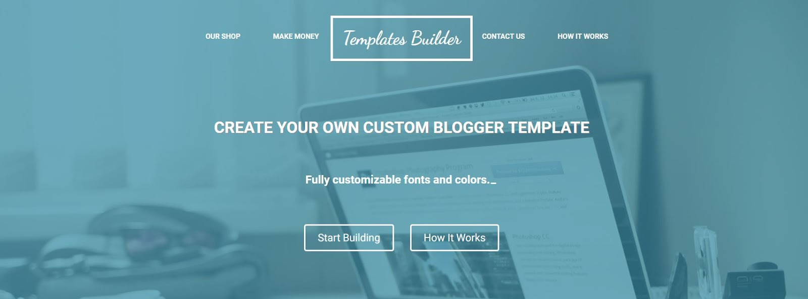 Giveaway From Blogger Templates Builder | Life and Linda