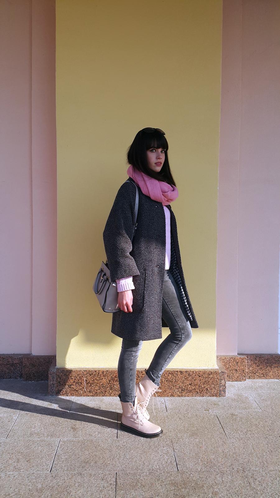 пальто оверсайз, с чем носить пальто оверсайз