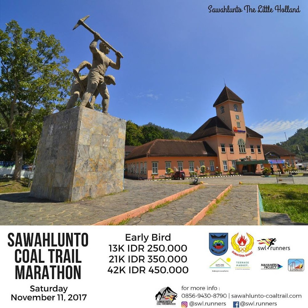 Sawahlunto Coal Trail Marathon • 2017