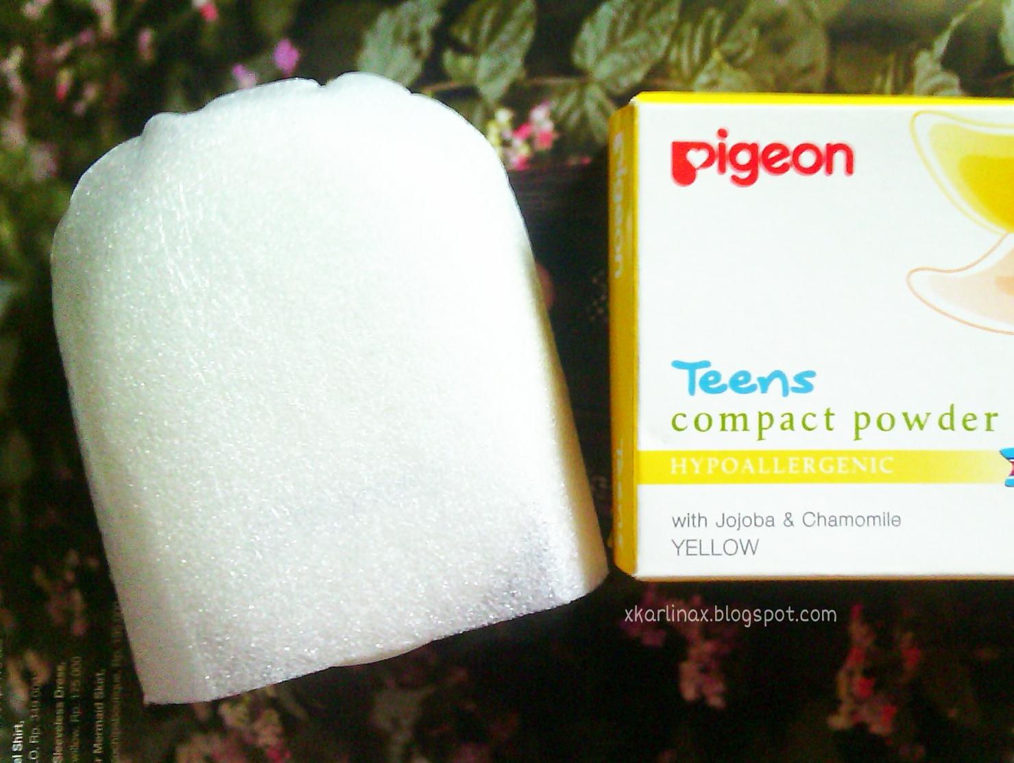 Beauty Pigeon Teens Compact Powder Hypoallergenic Daretochange Refill 20 Gr Gold 14g