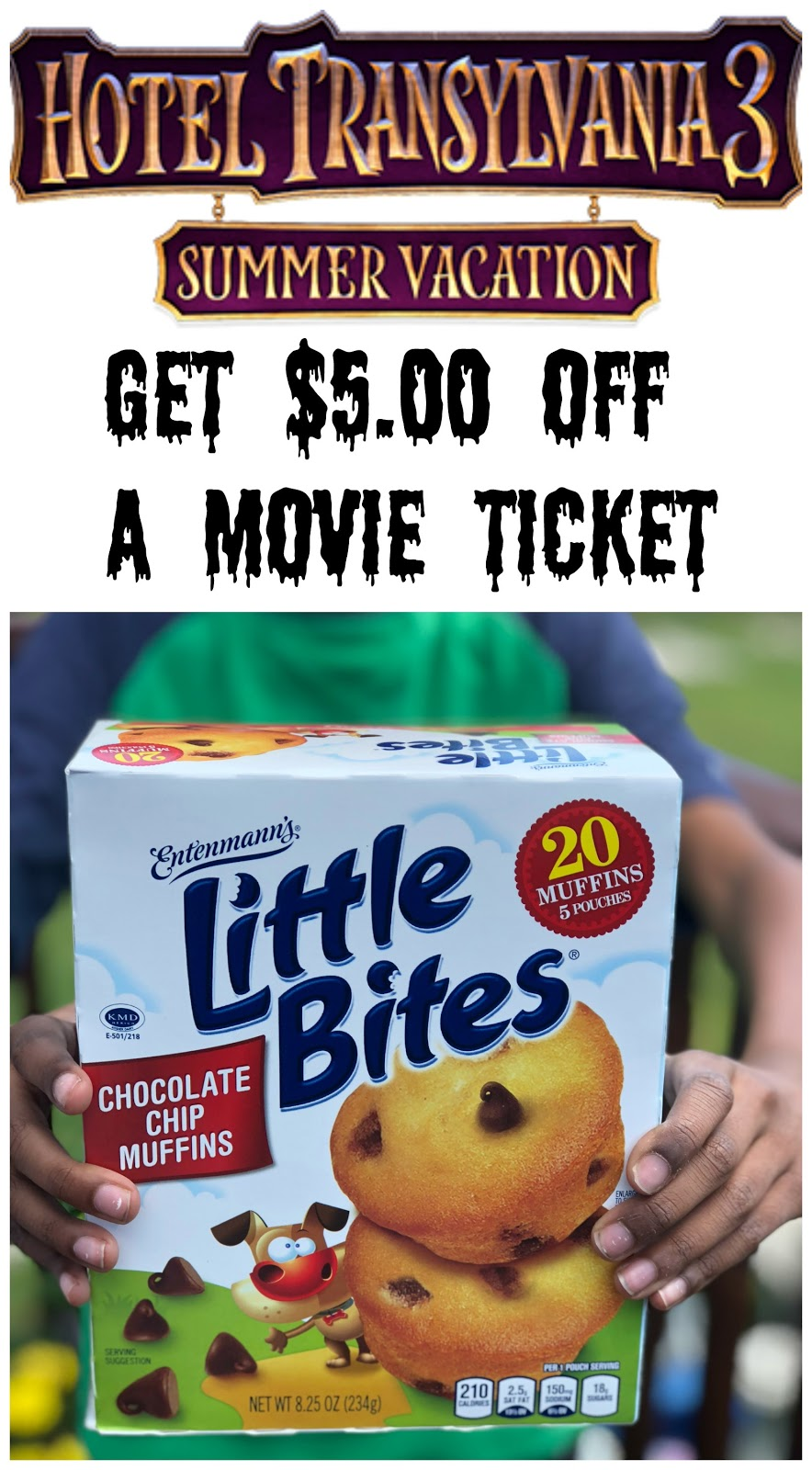 To See The Film With Purchase Of Three Five Count Specially Marked EntenmannsR Little BitesR Or Eight Donuts