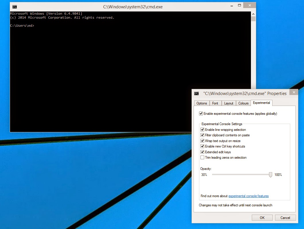 cmd support copy paste windows 10