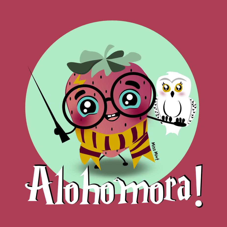 ilustración Harry Potter para personalizar Totebags