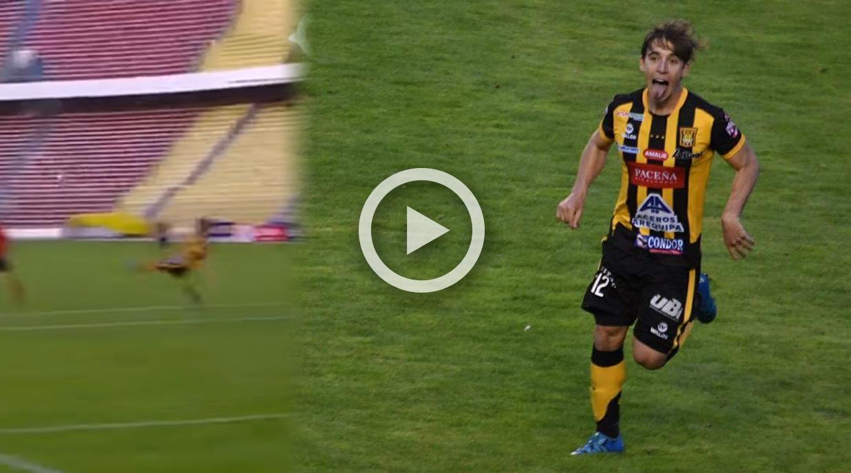 Cristian Novoa marcó GOLAZO en el triunfo de The Strongest frente a ...