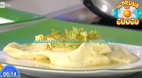 Ravioli con noci e caciofiore ricetta Marsetti da Prova del Cuoco