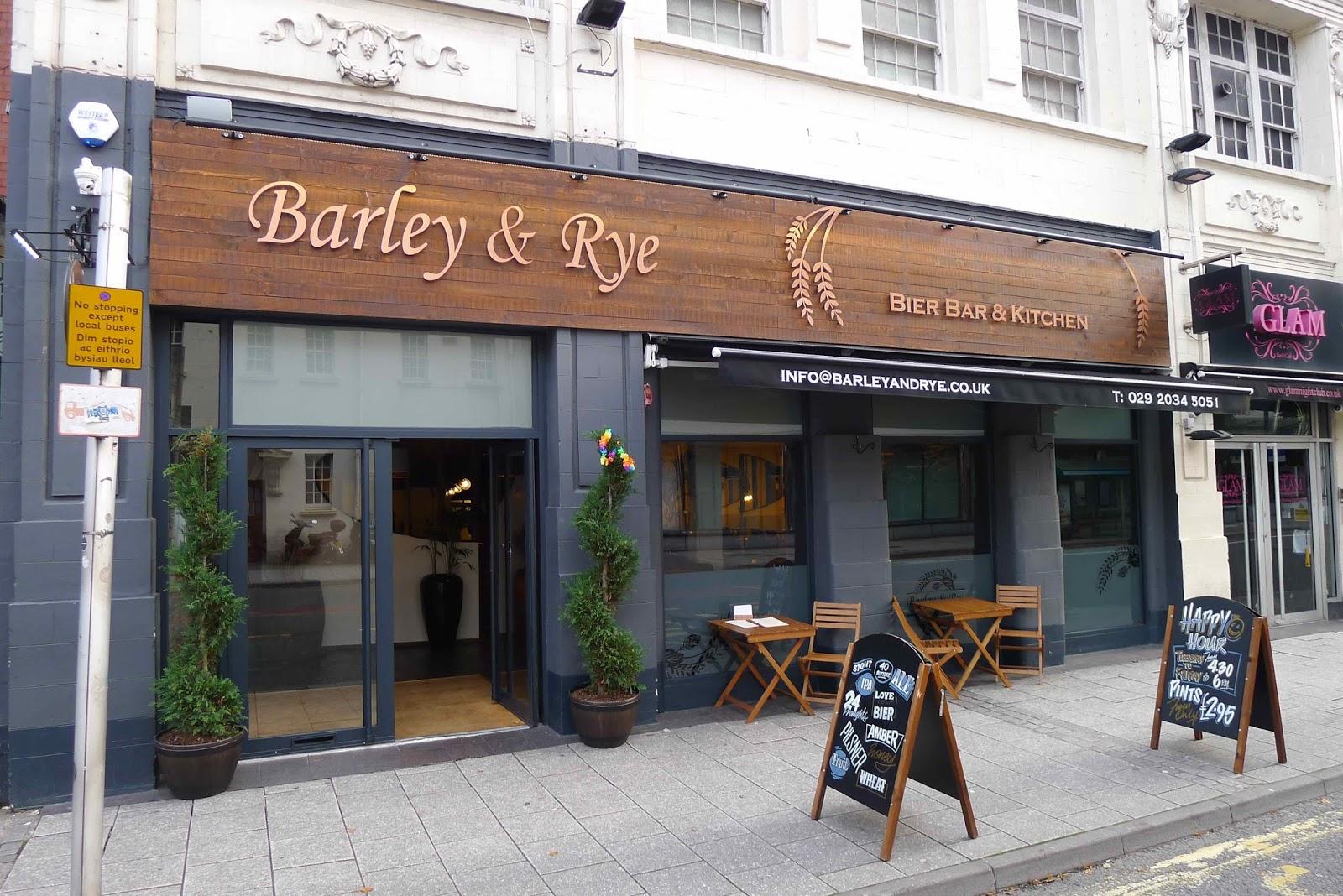 gourmetgorro barley rye cardiff bar and restaurant review