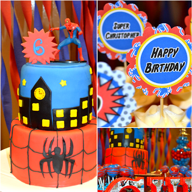 Amazing Spiderman Inspired Birthday Party Ideas