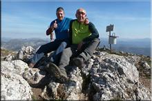 Peña Corada mendiaren gailurra 1.835 m. -- 2017ko apirilaren 14an