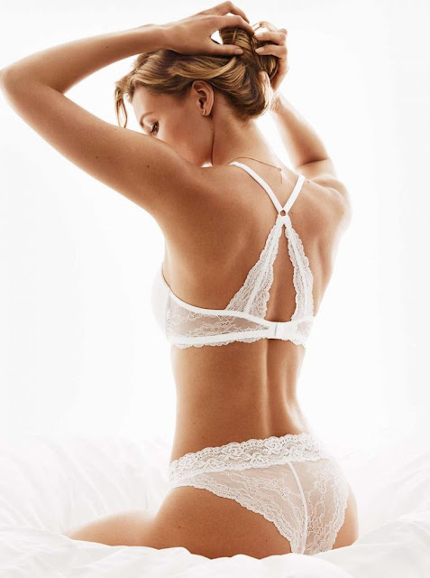 H&M Lace Push-Up Bra and Lace Briefs
