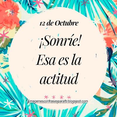 Frase del Día 12 de Octubre