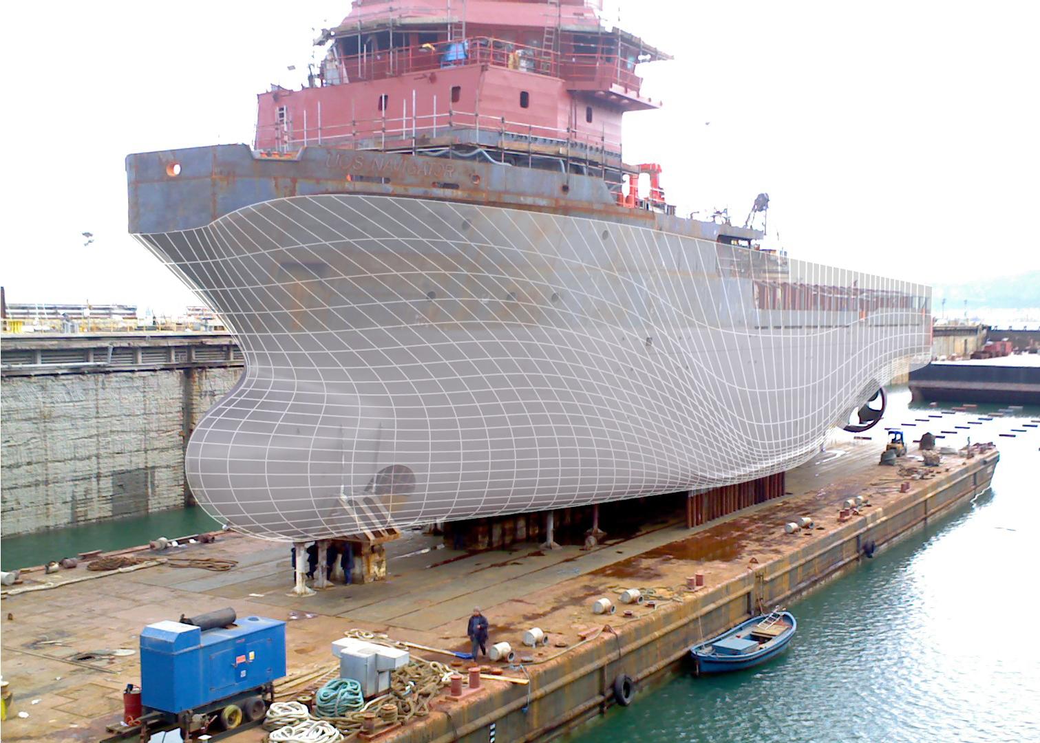 Rhinoceros Report Ship Hull From A Linesplan With Rhino