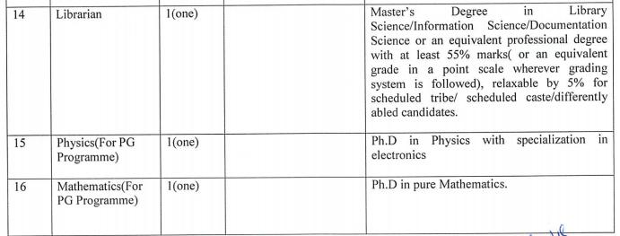NPSC Recruitment