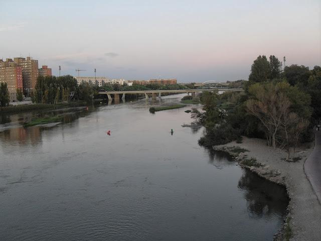 El río Ebro Zaragoza