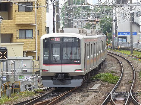 【やむなく打ち切り!】通勤特急 武蔵小杉行き 東急5050系・西武6050系