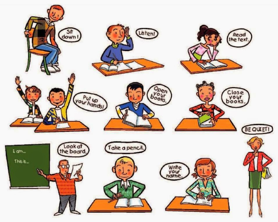 Classroom Language (Bahasa Yang Digunakan Dalam Ruang Kelas)