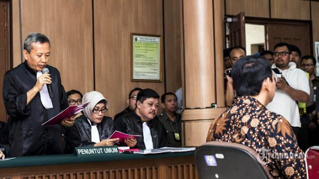 Aneh Jaksa Melemahkan Bukti dan Saksi Yang Mereka Hadirkan Sendiri, Hingga Ahok Hanya Dituntun 1 Tahun