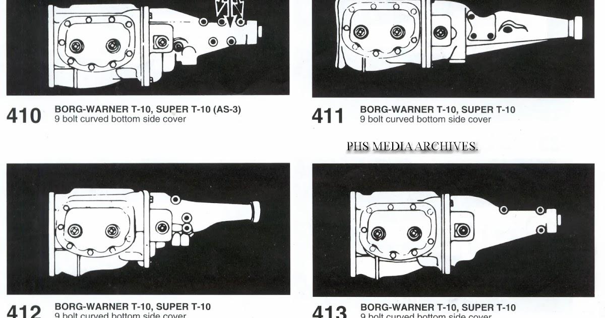 phscollectorcarworld: Tech Files: Borg Warner T-10 Super T
