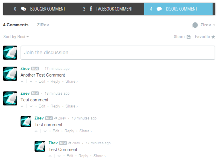 How to Add Facebook and Disqus Comment Systems to Blogger in