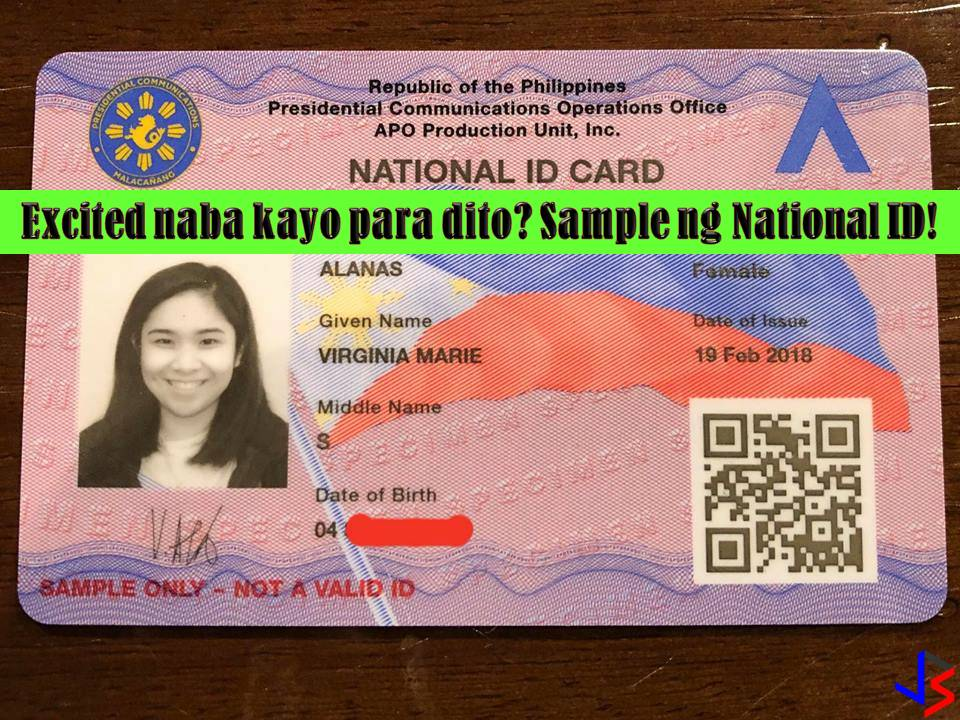 A mandatory national ID system in the Philippines has been a long debate. There are many people who favor the passage of the law because they believe this could help in crime prevention. The government says, through national ID, it can verify the identities of people who avail of its services or public transactions.  Read more: http://www.jbsolis.com/2018/03/are-you-excited-for-national-id-system.html#ixzz59bzObLea